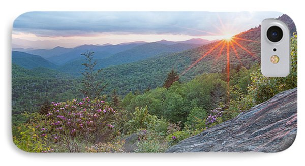 Blue Ridge Sunset IPhone Case