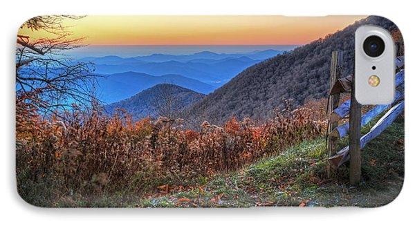 Blue Ridge Sunrise IPhone Case