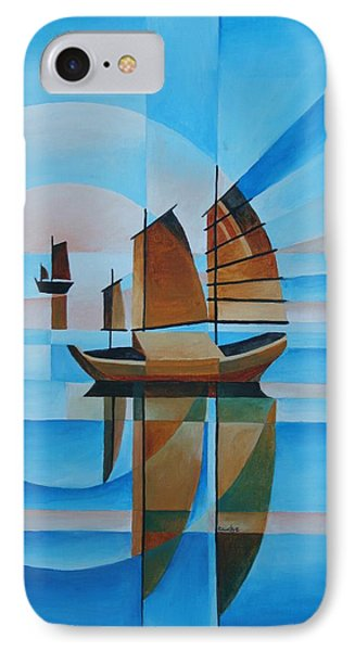 Blue Skies And Cerulean Seas IPhone Case