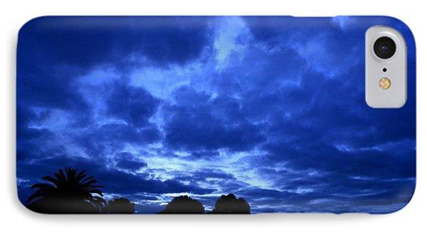 Blue Storm Rising IPhone Case