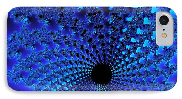 Blue Tunnel IPhone Case
