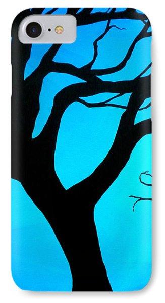 Blue Winter IPhone Case