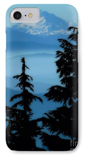 Blue Yonder Mountain IPhone Case