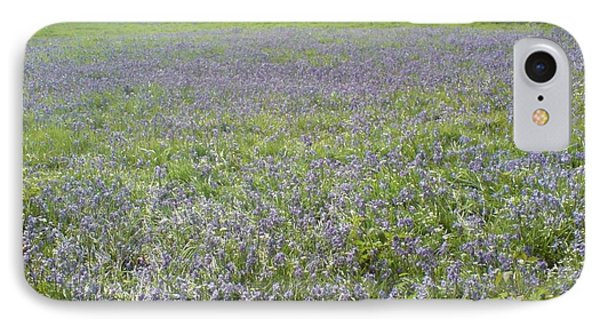 Bluebell Fields IPhone Case