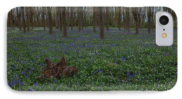 Bluebells Oxey Wood. IPhone Case