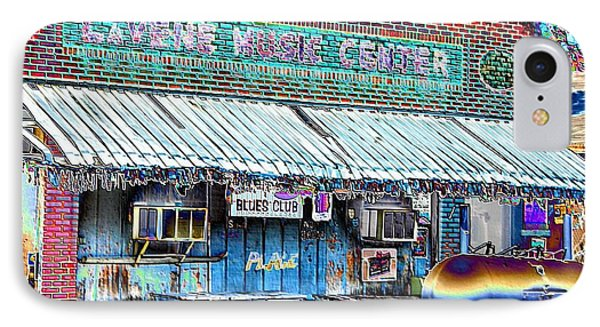 Blues Club In Clarksdale IPhone Case