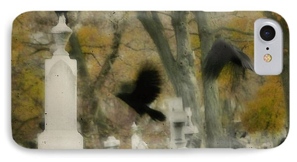 Blur Of Crows IPhone Case