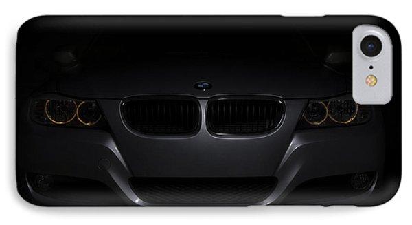 Bmw Car In Black Background IPhone Case