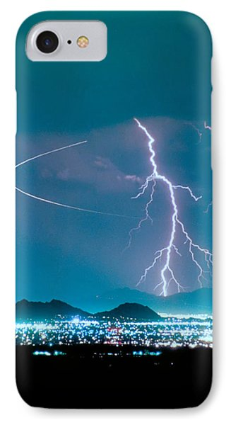 Bo Trek The Lightning Man IPhone Case