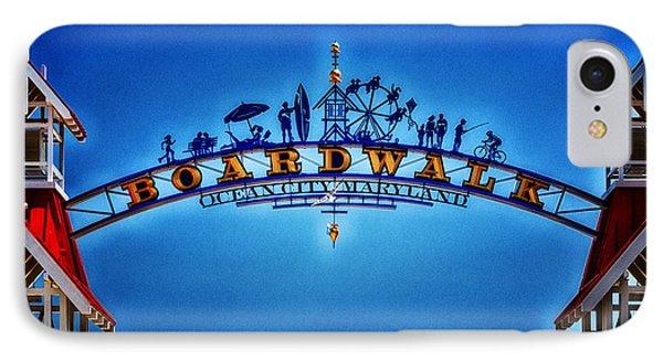 Boardwalk Arch In Ocean City IPhone Case