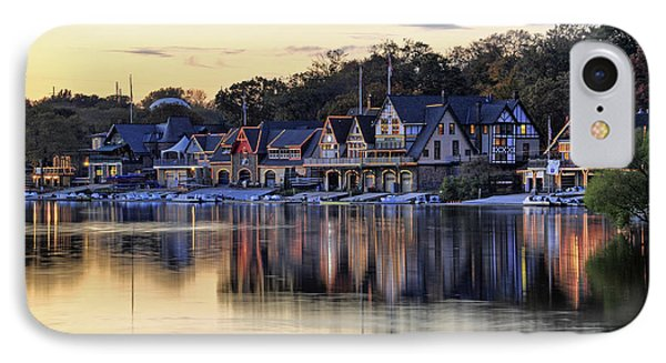 Boat House Row In Philadelphia  IPhone Case