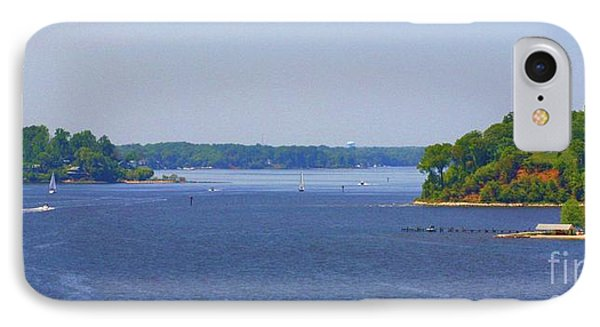 Boating On The Severn River IPhone Case