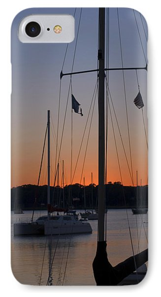 Boats At Beaufort IPhone Case