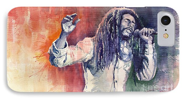Bob Marley 01 IPhone Case