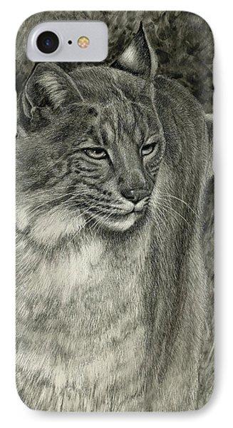 Bobcat Emerging IPhone Case