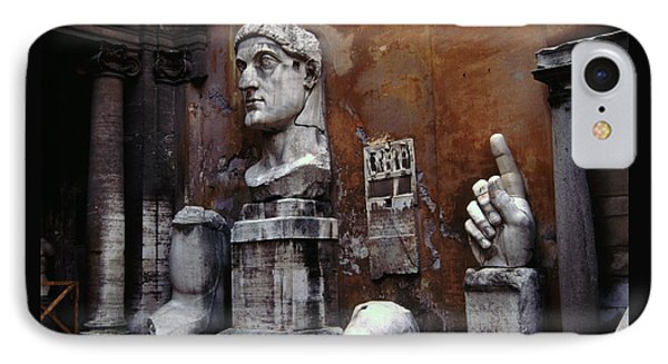 Body Parts The Colossus Of Constantine Rome IPhone Case