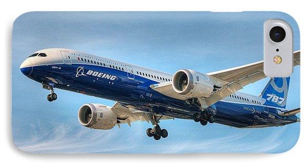 Boeing 787-9 Wispy IPhone Case