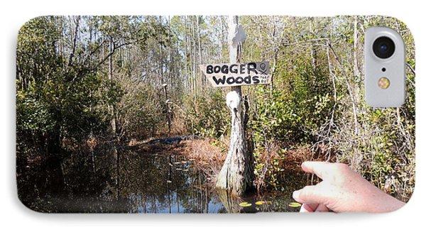 Bogger Woods IPhone Case