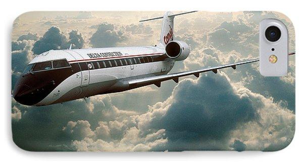 Bombardier-canadair Regional Jet Crj IPhone Case