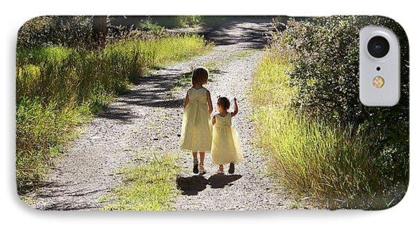 Bond Between Sisters IPhone Case