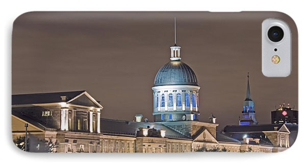 Bonsecours At Night IPhone Case