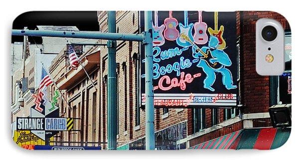 Boogie On Beale St Memphis Tn IPhone Case