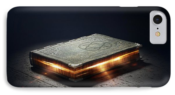 Book With Magic Powers IPhone Case