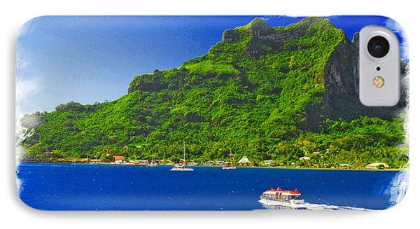 Bora Bora Island IPhone Case