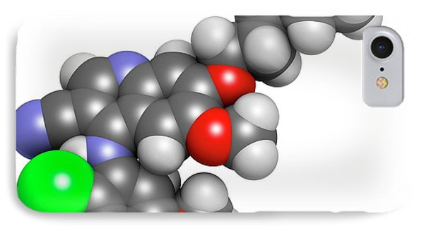 Bosutinib Leukemia Drug Molecule IPhone Case