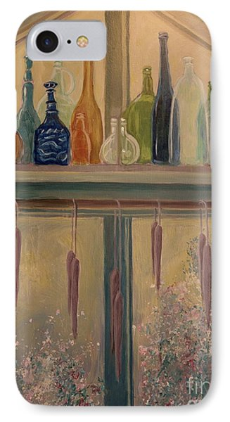 Bottles And Candle Window IPhone Case