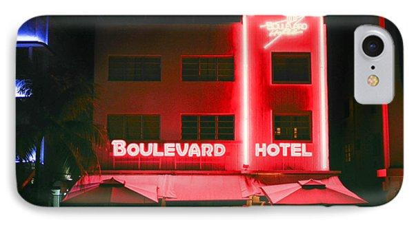 Boulevard Hotel IPhone Case