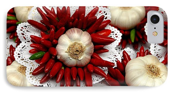 Bouquet With Wild Onion And Chili IPhone Case
