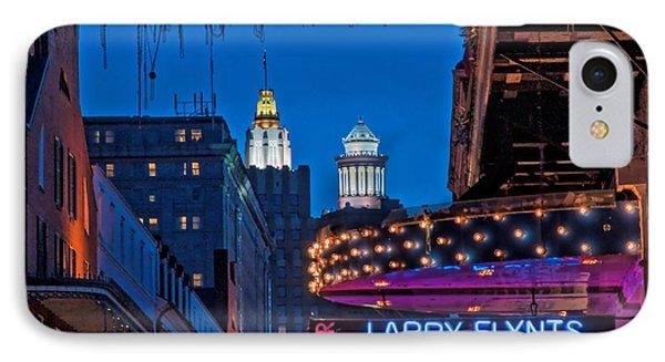 Bourbon Street And Cbd Lights  IPhone Case