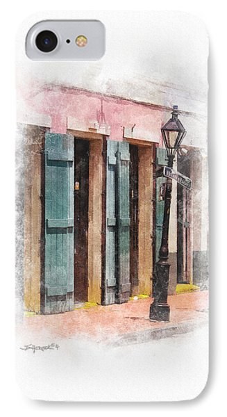 Bourbon Street Lamp Post IPhone Case