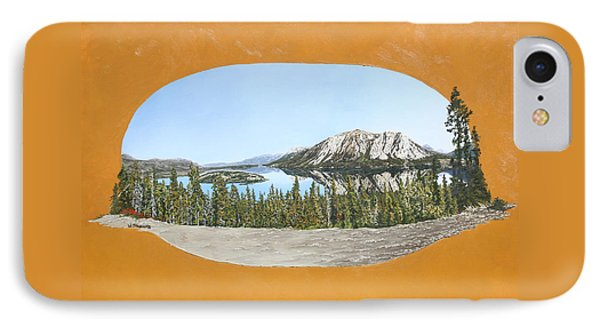 Bove Island Alaska IPhone Case