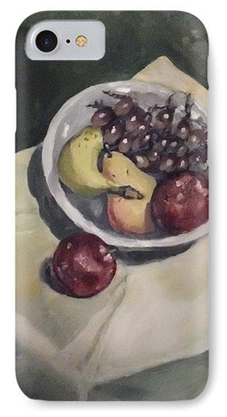 Bowl Of Fruit IPhone Case