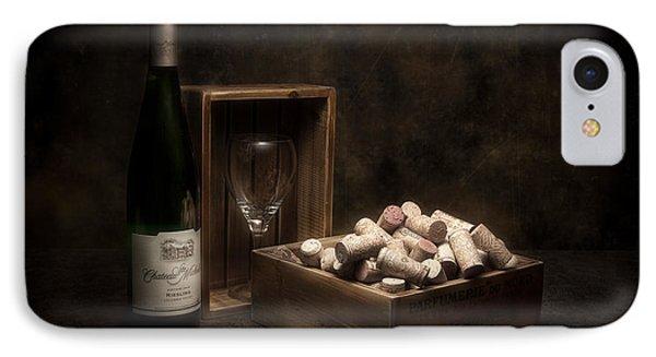 Box Of Wine Corks Still Life IPhone Case