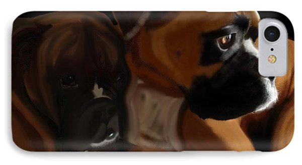 Boxer Brothers IPhone Case