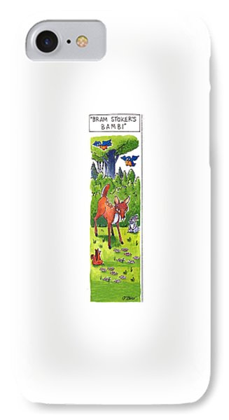 Bram Stoker's Bambi IPhone Case