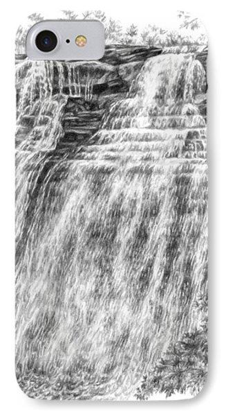 Brandywine Falls - Cuyahoga Valley National Park IPhone Case