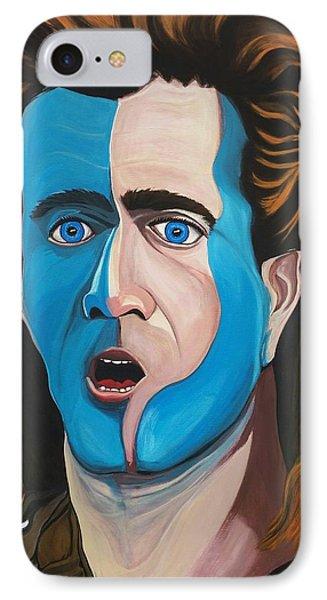 Brave Heart  Mel Gibson IPhone Case