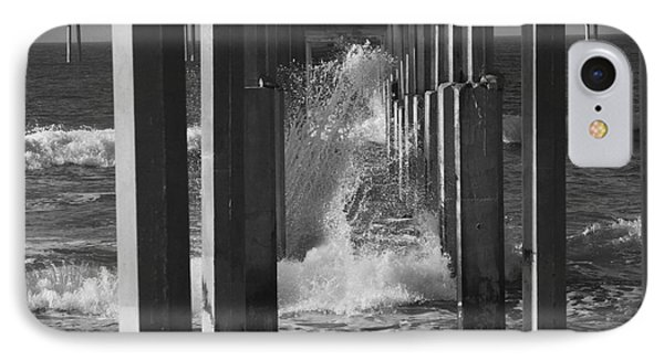 Breakers And Pier IPhone Case