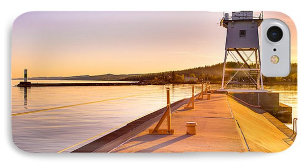 Breakwater Lights Redux IPhone Case