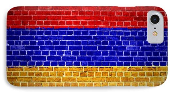 Brick Wall Armenia IPhone Case