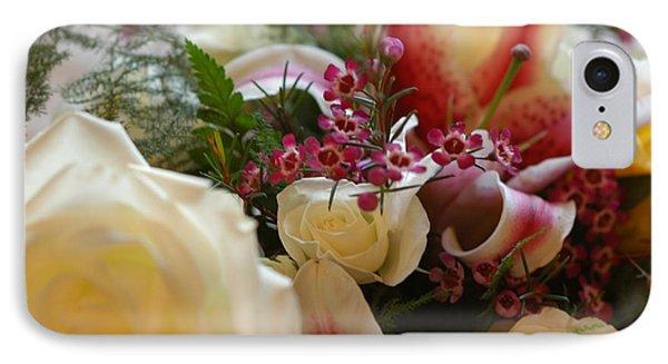 Bridal Flowers IPhone Case