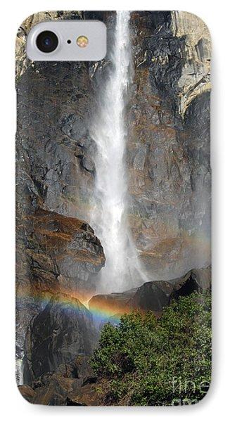 Bridalveil Falls No Sky IPhone Case