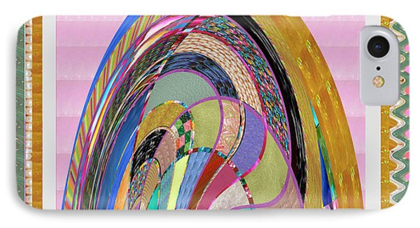 Bride In Layers Of Veils Accidental Discovery From Graphic Abstracts Made From Crystal Healing Stone IPhone Case