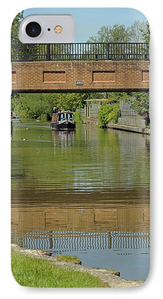 Bridge 238b Oxford Canal IPhone Case