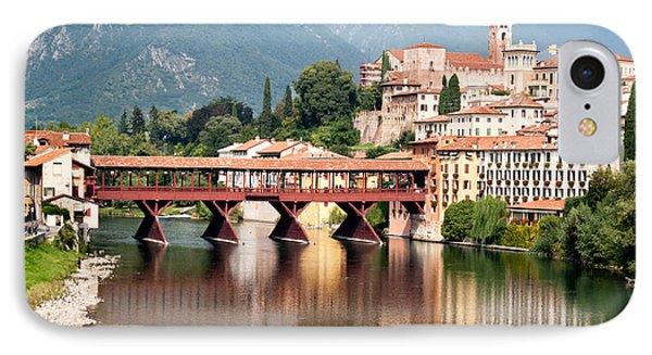Bridge At Bassano Del Grappa IPhone Case
