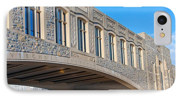 Bridge At Virginia Tech IPhone Case